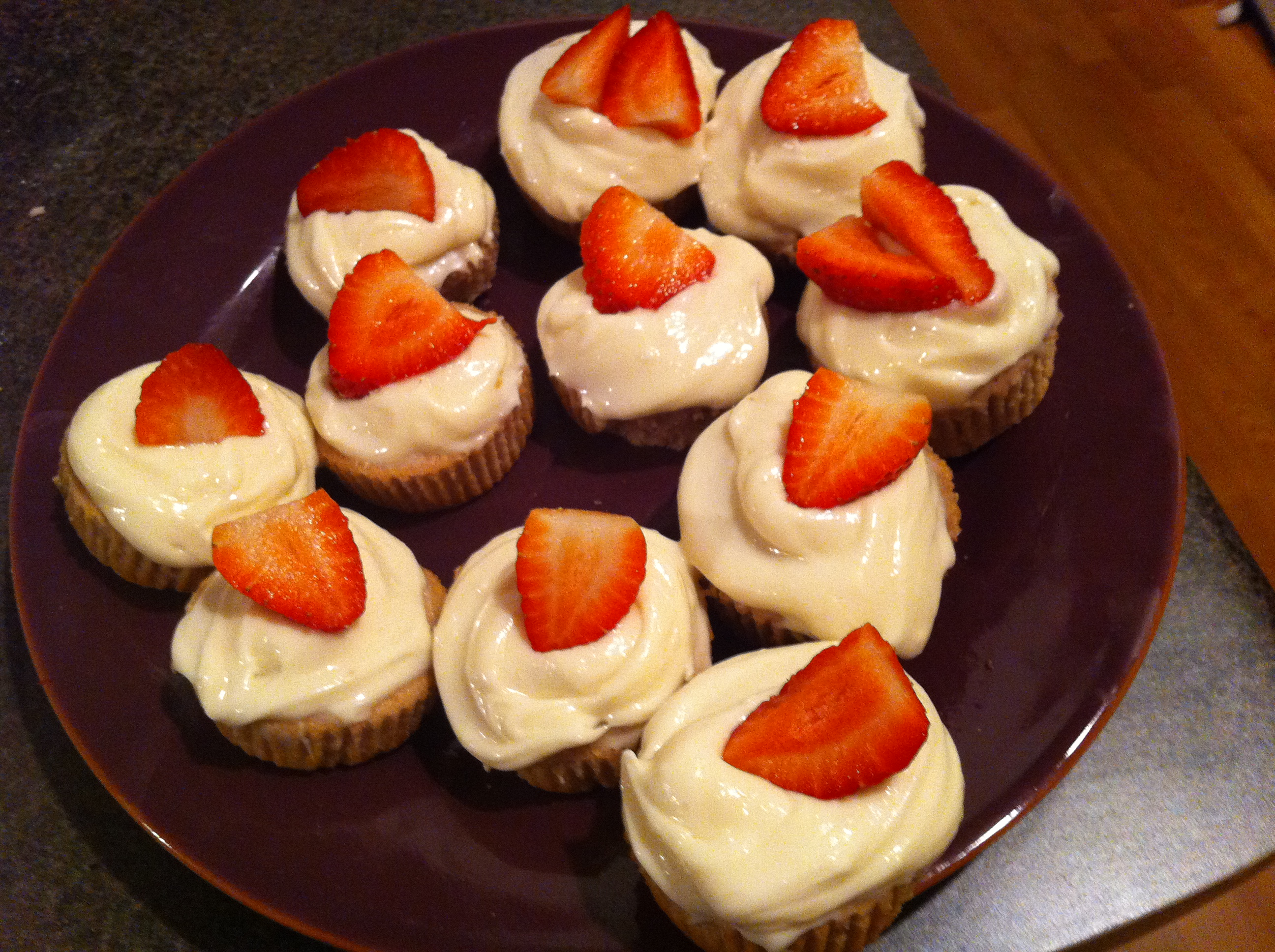 ... Cupcakes with Light Cream Cheese Frosting | The Realistic Nutritionist