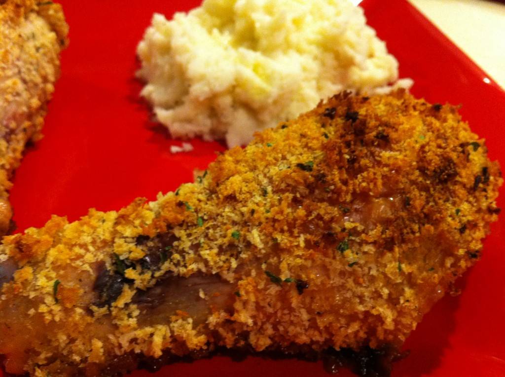 Eat Skinny Be Skinny Oven Fried Chicken The Realistic