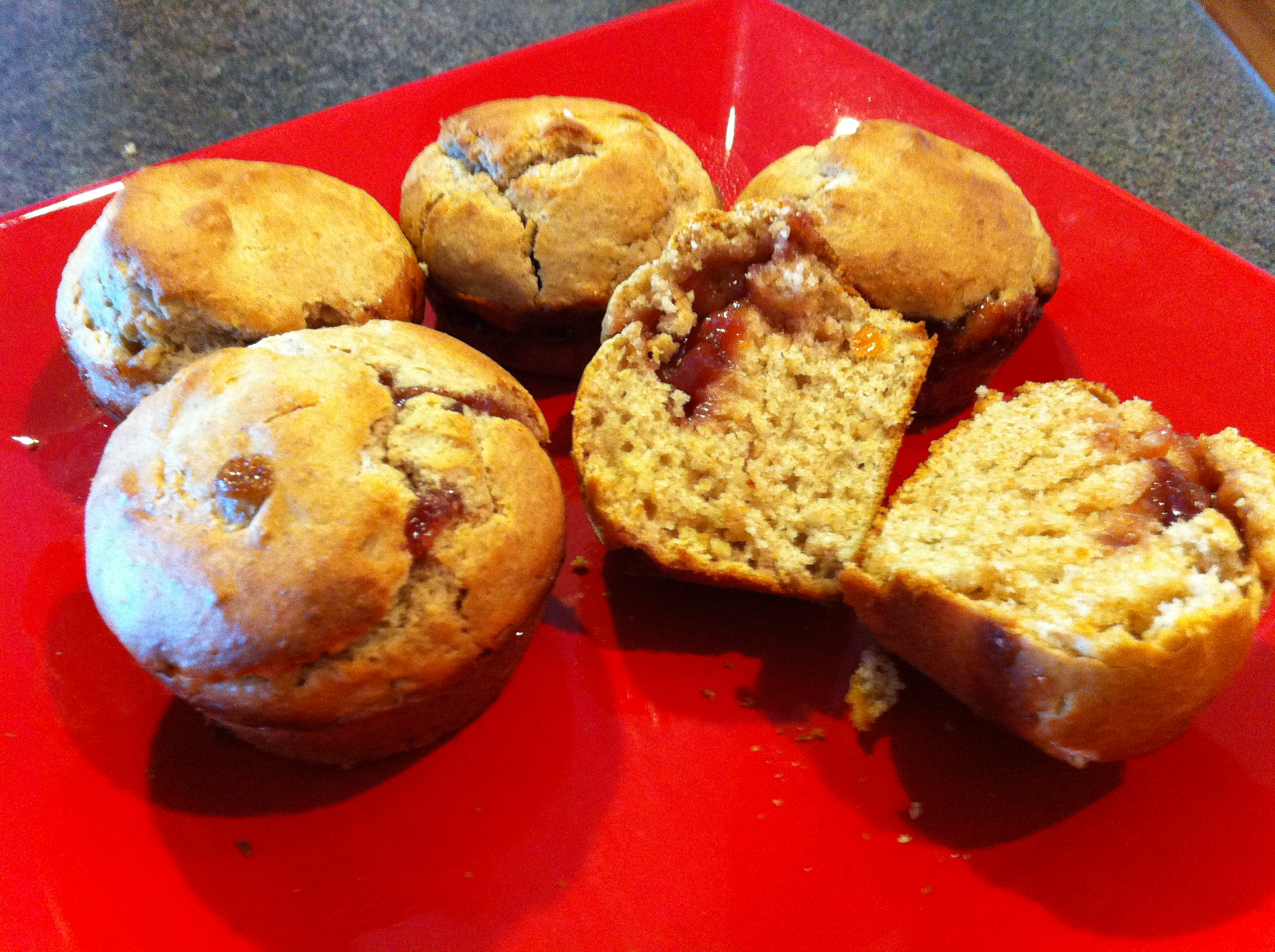 Like That? Try This: Peanut Butter and Jelly Muffins   The Realistic ...