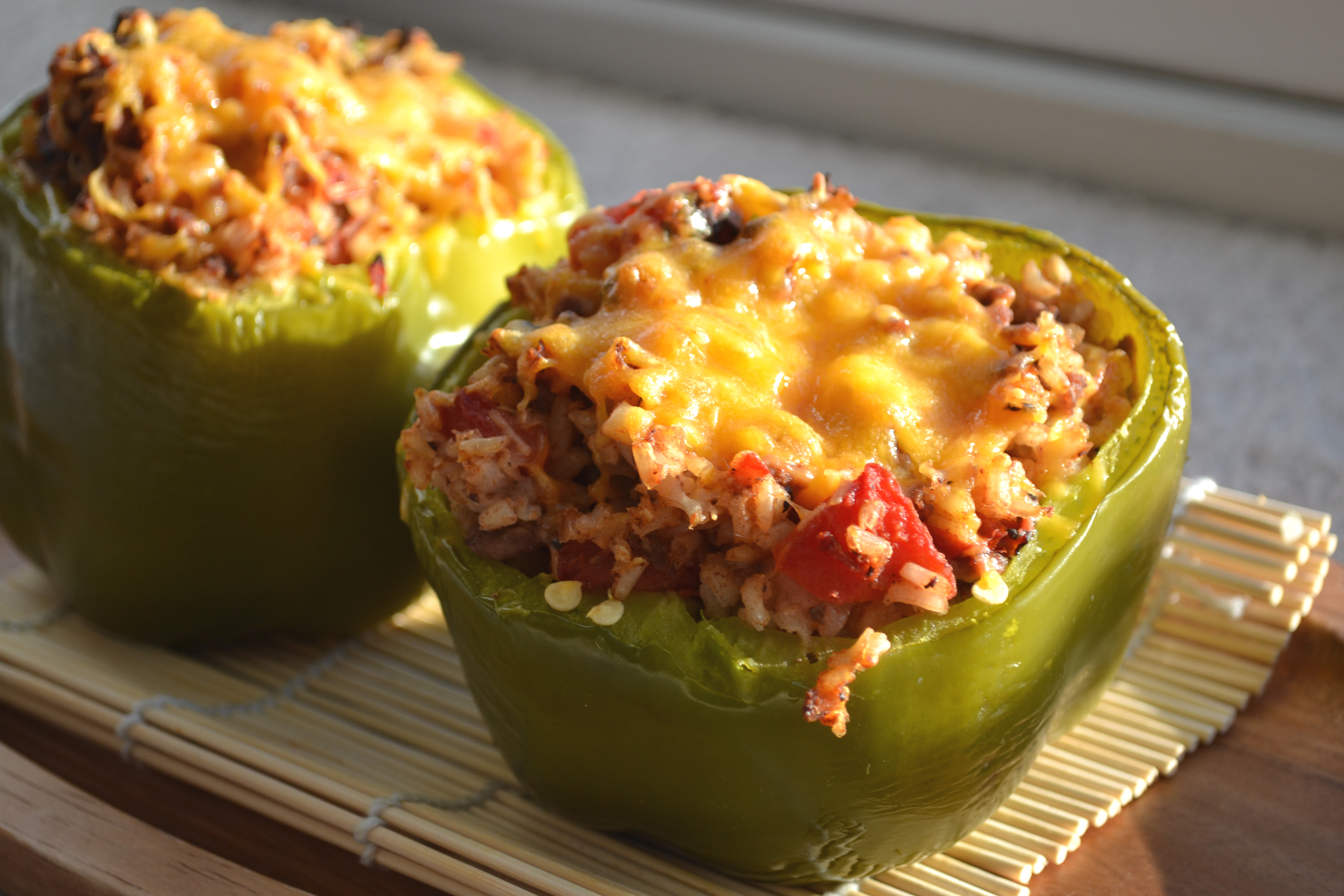 Eat Skinny Be Skinny: Stuffed Peppers | The Realistic Nutritionist