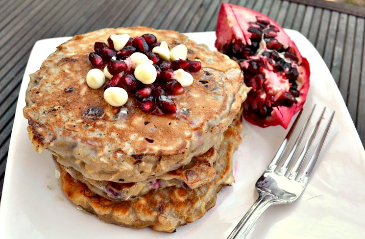 "... this recipe, which I've deemed ""Christmas Morning Pancakes"
