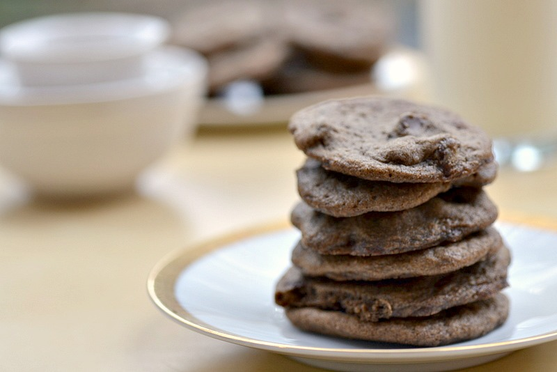 Vegan Double Chocolate Chip Cookies Delicious And Completely Dairy Free