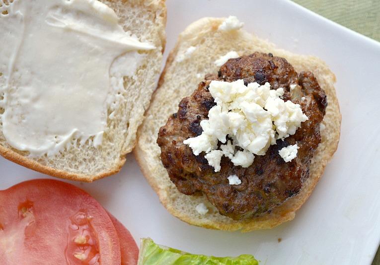 Eat Skinny Be Skinny: Mediterranean Lamb Burgers | The Realistic ...