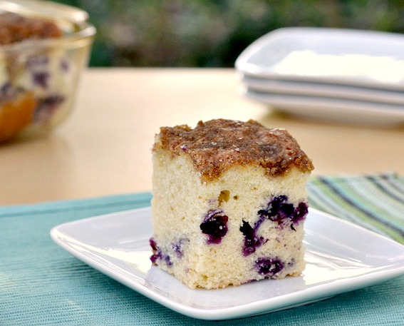 Eat Skinny: Blueberry Muffin Cake Recipe | The Realistic Nutritionist