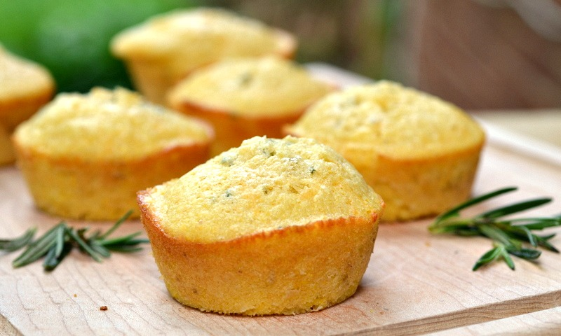 Eat Skinny: Rosemary Cheddar Cornbread Muffins | The ...