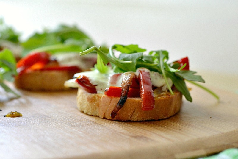 Eat Skinny: Veggie Open Face Sandwich Melts Recipe | The Realistic ...
