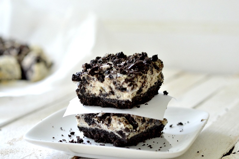 Culinary Do-over: Light Cookies n' Cream Cheesecake Squares Recipe ...