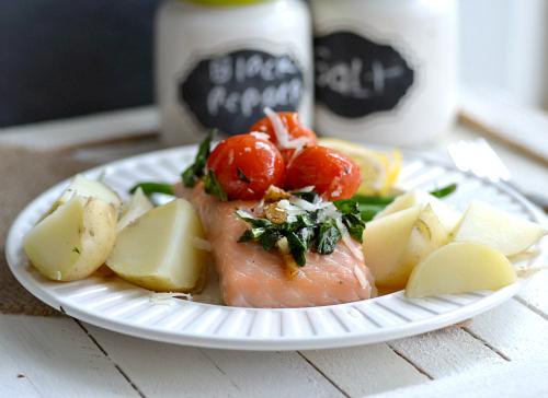 Hello Fresh Salmon with New Potatoes