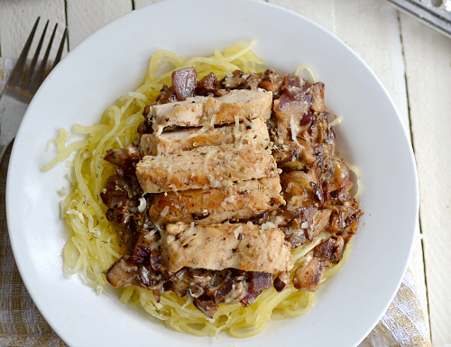 Serves about 3 servings (1/2 cup pasta, 4 tablespoons sauce & 4 ounces ...