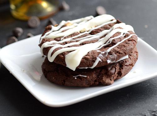 Dessert wine cookies