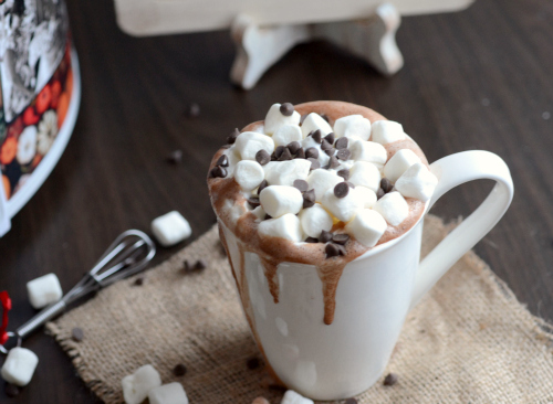 light crock pot hot cocoa