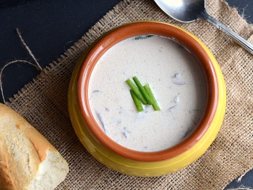 low fat cream of mushroom soup