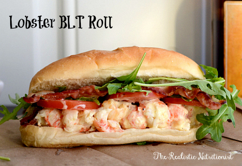 BLT lobster roll