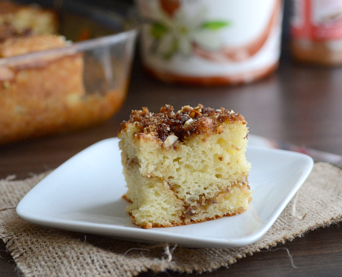 Guilt free coffee cake