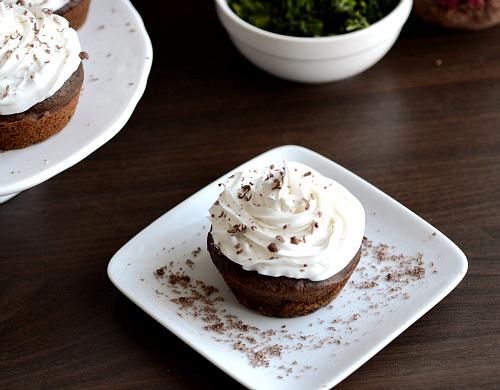 Low fat healthy veggie cupcakes