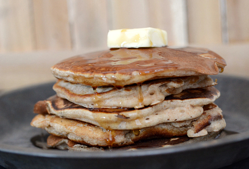 Whole Wheat Rum Raisin Pancakes - nutritionfor.us