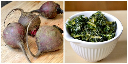 beets and kale