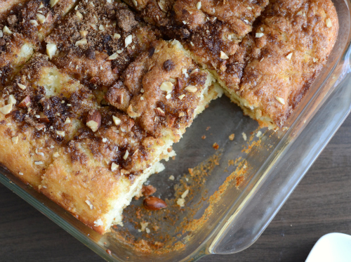 low fat coffee cake2