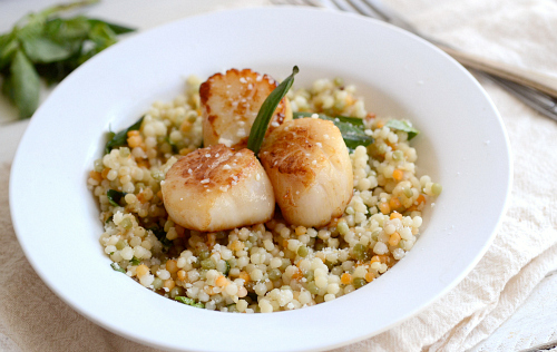 Fresh easy scallops
