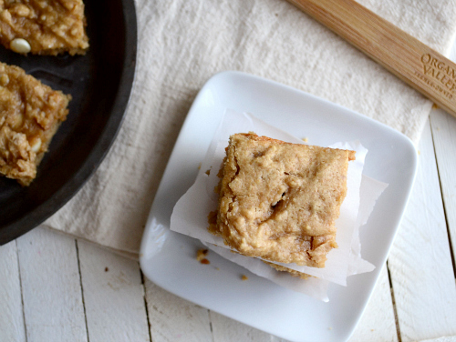 Low fat Peanut Butter Bars
