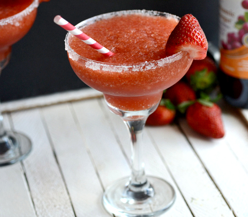 strawberry balsamic margarita