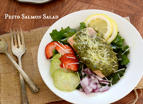 pesto salmon salad2