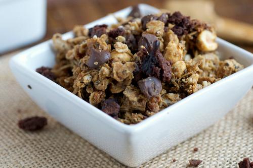 Chunky chocolate granola