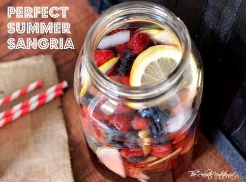 Perfect summer sangria