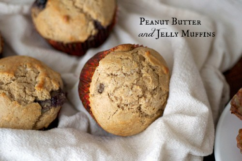 pb and jelly muffins