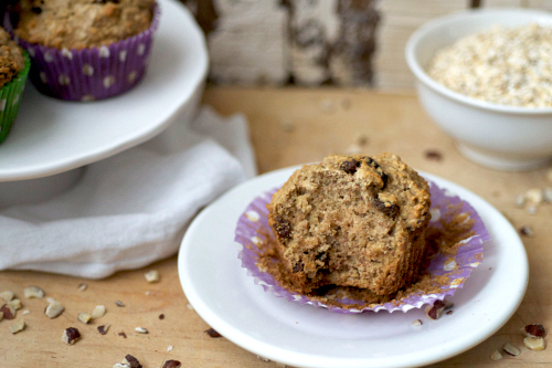 Fluffy low fat Oatmeal Muffins.jpg