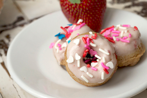 Little strawberry donuts.jpg