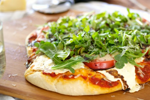 Arugula and balsamic pizza.jpg