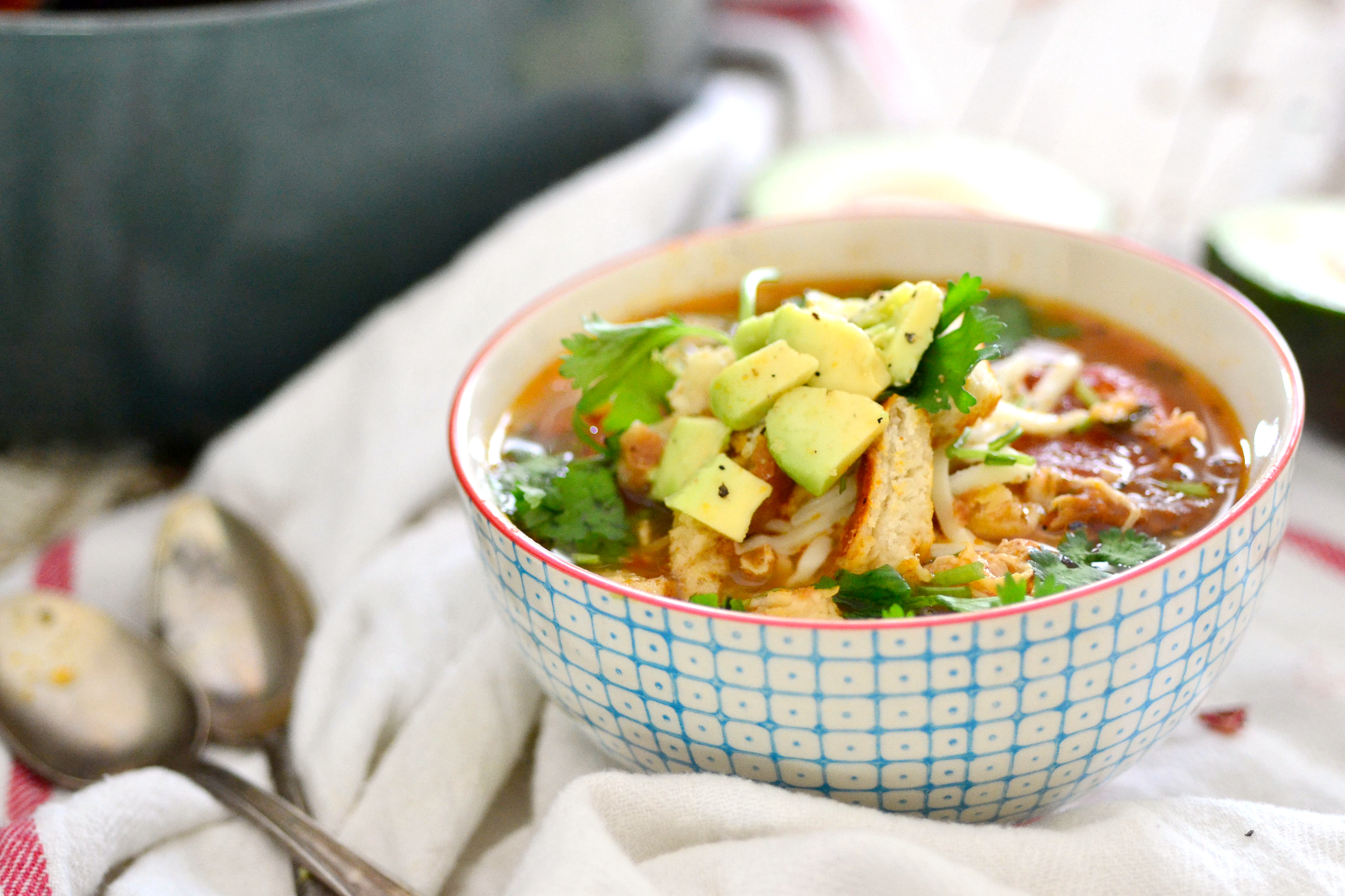 Nutritionist In The Kitchen Tortilla Soup