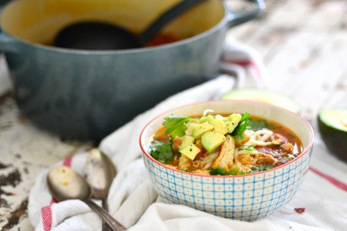 Best chicken tortilla soup2