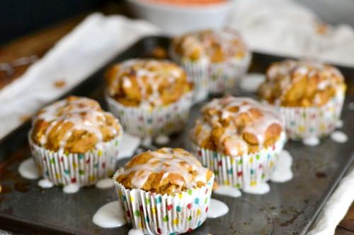 Luscious glazed muffins2