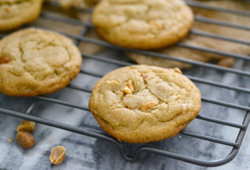 Soft and chew coconut oil cookies