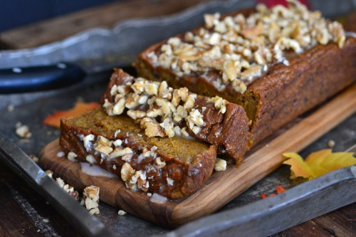 Fluffy and delicious pumpkin bread
