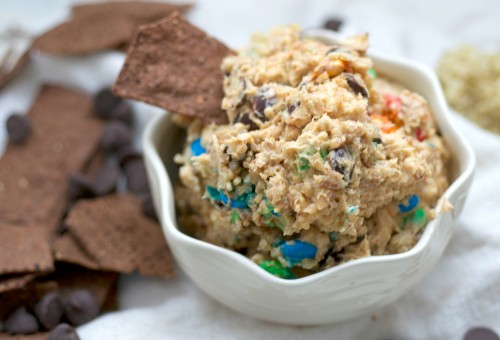 best ever quinoa chunky dip