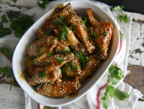 soy glazed chicken wings