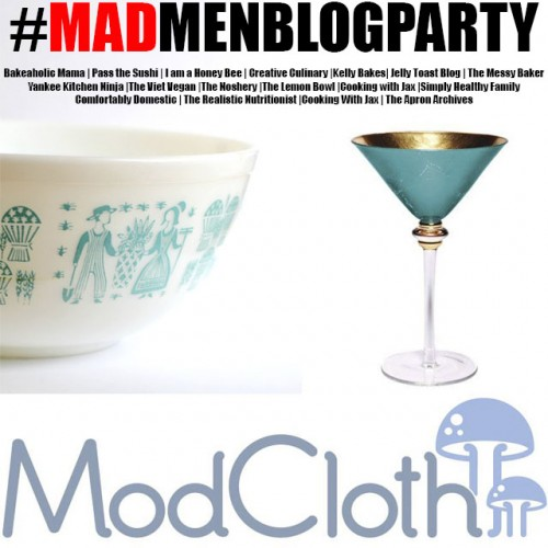 MAD MEN BLOG PARTY GIVEAWAY
