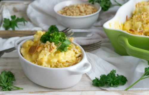 creamy cauli mac