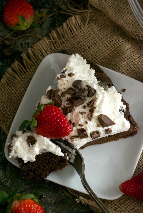 rich decadent grain free cake