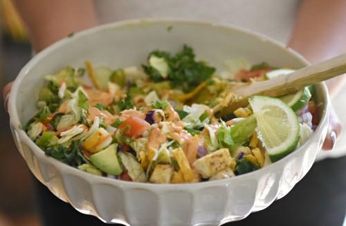 tofu taco salad2