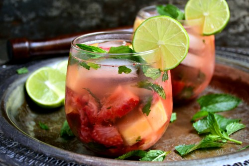 Easy fresh mojitos