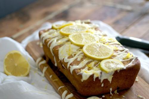 Easy low fat lemon loaf