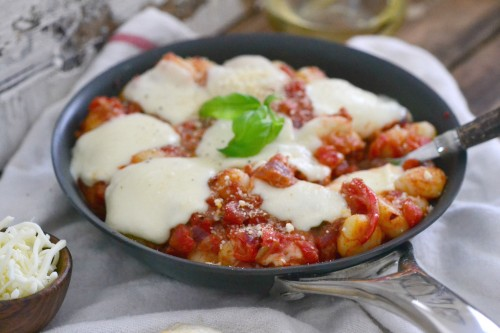 Easy one pot and one skillet gnocchi