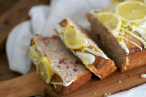 Fluffy lemon yogurt bread
