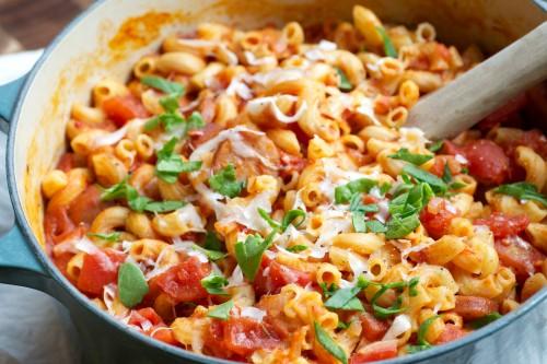 Creamy easy one pot pasta