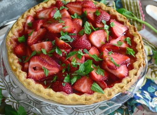Easy fresh summer pie