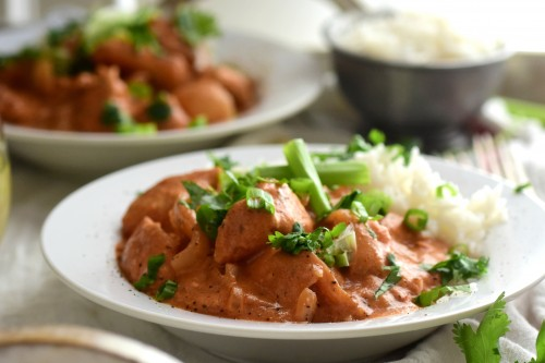 easy creamy crock pot butter chicken